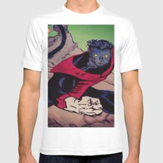 The Amazing Nightcrawler SMALL White Mens Fitted Tee