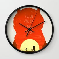 Wild Things Wall Clock