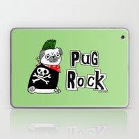 Pug Rock Laptop & iPad Skin