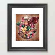 CAN'T TOUCH THIS Framed Art Print