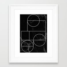 Marble Line #2 Framed Art Print