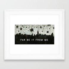 A Good Sky for Falling Framed Art Print