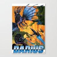 Darius Canvas Print