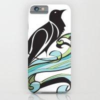 iPhone & iPod Case featuring Crow by Melanie Schumacher