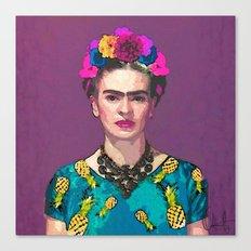 Trendy Frida Kahlo Canvas Print