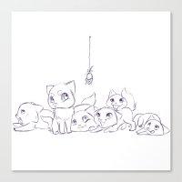 Cat's Canvas Print
