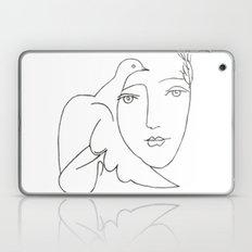 face - dove Laptop & iPad Skin