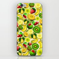 Summer Fruits Juicy Pattern  iPhone & iPod Skin