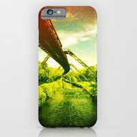 iPhone & iPod Case featuring Green W. by Akin Khan