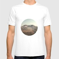 Mt. St. Helens Mens Fitted Tee White SMALL