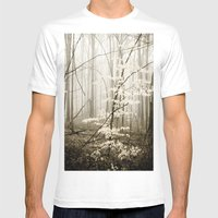 Apparition Mens Fitted Tee White SMALL