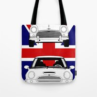 Mini, new and old Tote Bag