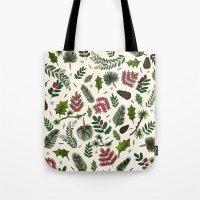 Winter Foliage  Tote Bag