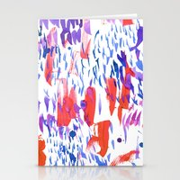 Lanai Red Stationery Cards