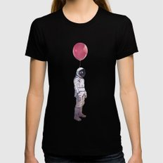 Red Balloon Womens Fitted Tee Black SMALL