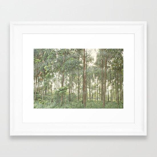 between the lines::uganda Framed Art Print