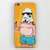 Trooper Orange  iPhone & iPod Skin
