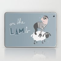 on the LAMb Laptop & iPad Skin
