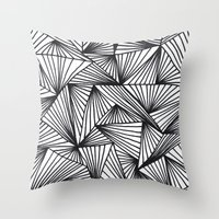 TriangleAngle Throw Pillow