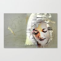 A Girl Named E Canvas Print