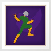 Special effect wizard, Quentin Beck (Mysterio) Art Print
