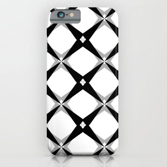 BW Pattern (Stars) iPhone & iPod Case