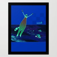 World5 Art Print