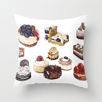 Cheesecake Throw Pillow