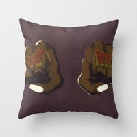LoveHate Throw Pillow
