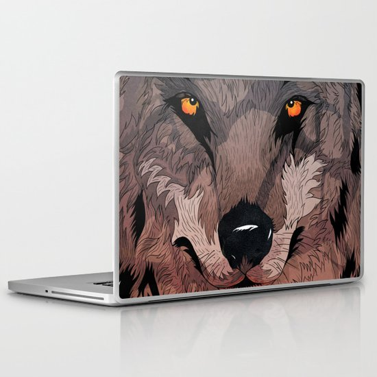Wolf Mother Laptop & iPad Skin