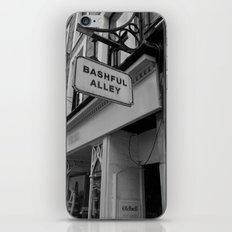Bashful Alley iPhone & iPod Skin