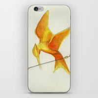 Mockingjay THGames iPhone & iPod Skin