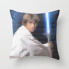 Luke Skywalker - StarWars - Pantone Swatch Art Throw Pillow
