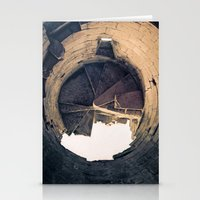 Shattered Spiral Stationery Cards