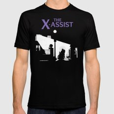 The X-Assist SMALL Black Mens Fitted Tee