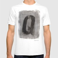 - Q - Mens Fitted Tee White SMALL