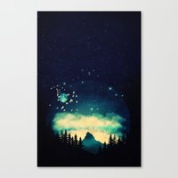 Stellanti Nocte Canvas Print