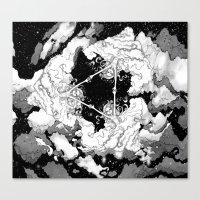 Kaleidoscope Sky Canvas Print