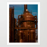 Industry Abandoned Art Print