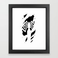 Venom in you Framed Art Print