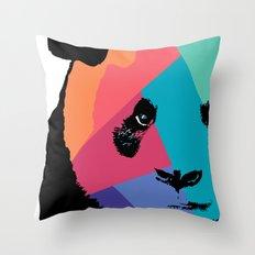 Panda in Colors  Throw Pillow
