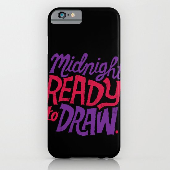 Midnight: Ready to Draw iPhone & iPod Case