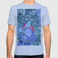 Blue&birds Mens Fitted Tee Athletic Blue SMALL
