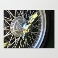 MG Bolt Canvas Print
