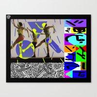 ショッピングワー… Canvas Print