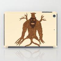 Tree Stitch Monster iPad Case