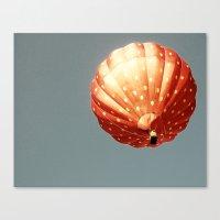Strawberry Hot Air Baloo… Canvas Print