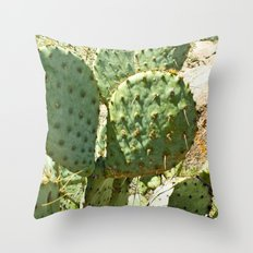 A Sticky Situation... Throw Pillow