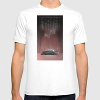 CHEVROLET BEL AIR Mens Fitted Tee White SMALL