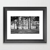 The Magic Forest Framed Art Print